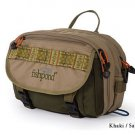 Fishpond Khaki/Sage Blue River Chest / Lumbar Pack