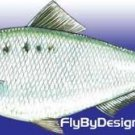 Janssen Shad Minnow  - Twelve Size 10 Fly Fishing Flies