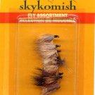 Skykomish Caddis 10 Pk Assortment Dry Fly Fishing Flies