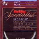Berkley Specialist 4x - 2.5 Lb test 9' Tapered Leader