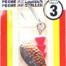Luhr-Jensen Ham Nickel Copper TeeSpoon Spinner - Size 3