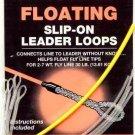 Cortland Floating 30LB Slip-On Clear Leader Loops 2-7wt