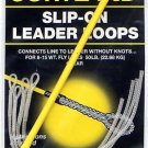 Cortland 50LB Slip-On Clear Leader Loops For 8-15 wt