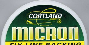 Cortland Micron Fly Line Backing - Choice of Size