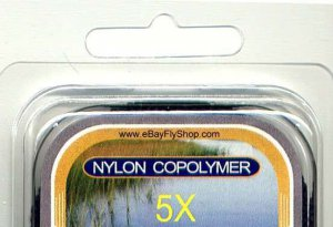 MOU Copolymer Monofilament Fly Fishing Tippet Material
