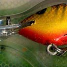 Vintage (1989) POE'S SUPER CEDAR Brown/Fire Belly Lure