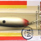 Luhr-Jensen Krocodile Silver Shad 1/4 oz Wobbler Spoon