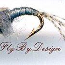Bead Head WD40 Nymph Fly Fishing Flies - Twelve Premium Flies Choice Hook Size