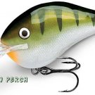"Rapala 2-1/4"" Balsa Yellow Perch Lure Dives to 10 Ft"