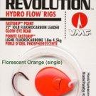 VMC Revolution Hydro Flow Fluorocarbon Leader Rigs - FastGrip Hooks & Flow Blade
