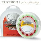 Cortland Precision Pike WF 8 Floating Green & Red Fly Fishing Line - Dual Loops