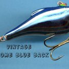 NEW Vintage Rapala RNR07-CHB Rattl'n Rap Chrome/Blue Fishing Lure Made FINLAND