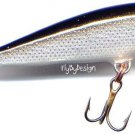 """Vintage Rapala Silver 2"""" CountDown (CD05-S) Sinking Lure ** Made in FINLAND! **"""