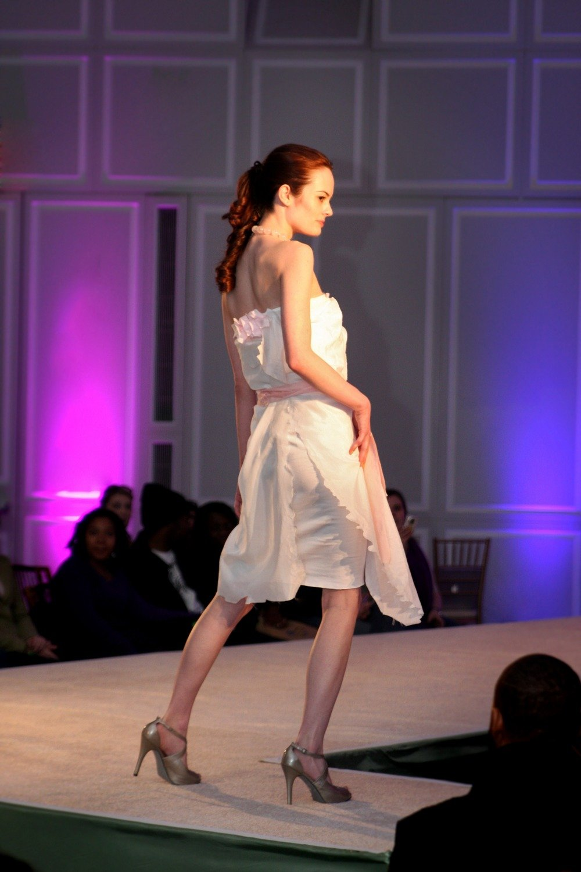 Strapless Colored Wedding Dress Designer Beach Casual Informal Short Cotton