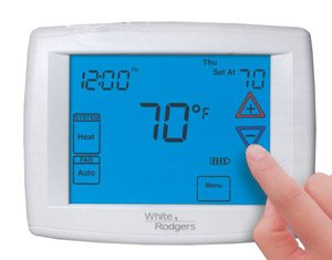 White Rogers Touch Screen Thermostat
