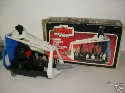star wars imperial star destroyer mint in box