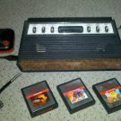 Atari 2600/Sears Video Arcade System Plus Three Carts!!!