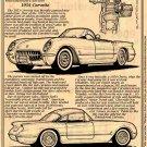 1954 Illustrated Corvette Series No. 2