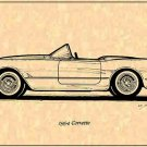 1954 Corvette Roadster Profile