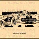 1956 Corvette Racer 12-Hours at Sebring