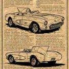 1956 SR-2 Racing Corvette Illustrated Series No. 6