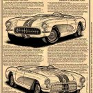 "1956 265 V-8 Corvette ""Duntov's 150.583-MPH Daytona Flyer"" Illustrated Series No. 139"