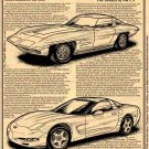 "1957 Q Corvette ""The Genesis of the C5 Corvette"" Illustrated Series No. 140"