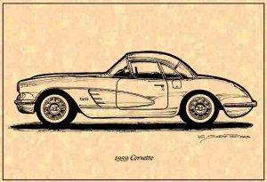 1959 Corvette Hardtop Profile