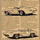 1959 Corvette Sting Ray Racer Illustrated Series No. 11