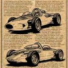 1960 Experimental Mid-Engine CERV I Corvette Illustrated Series No. 16
