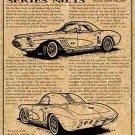1960 XP-700 Corvette Show Car Illustrated Series No. 13