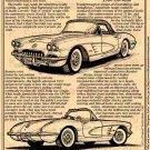 1960 Corvette Illustrated Series No. 12