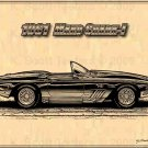 1961 Mako Shark I Corvette Roadster Profile