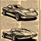 Bill Mitchell's 1961 Mako Shark Corvettes Illustrated Series No. 146