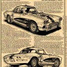1962 Gulf One Corvette Racer Illustrated Series No. 153