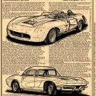 Zora Arkus-Duntov's 1957 Mule Corvettes - Pt. I Illustrated Series No. 147