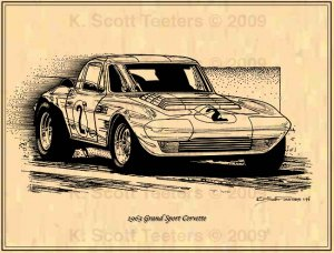 1963 Corvette Grand Sport Coupe Racer