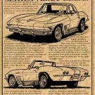1963 Corvette Roadster Show Car Illustrated Series No. 21