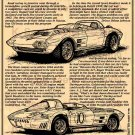 1963 Grand Sport Corvette Roadster Illustrated Series No. 20