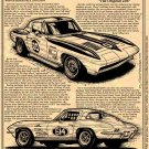 1963 Z06 Corvette Illustrated Series No. 128