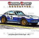 1963 Roger Penske - Jim Hall Grand Sport Corvette Coupe