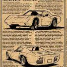 1964 XP-819 Experimental Rear-Engine Corvette Illustrated Series No. 42