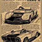 1964 CERV II Engineering Study Corvette Illustrated Series No. 23