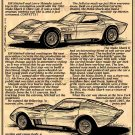 1965 Mako Shark II Show Car Corvette Illustrated Series No. 26