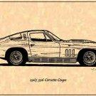 1965 396 Corvette Coupe Profile