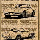 1965 396 Corvette Illustrated Series No. 25