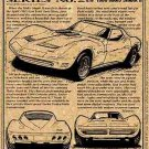 1966 Mako Shark II Show Car Corvette Illustrated Series No. 28