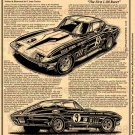 "1966 Penske L88 Corvette ""The First L88 Racer"" Illustrated Series No. 144"