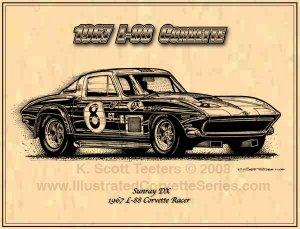1967 Sunray DX L-88 Corvette Racer