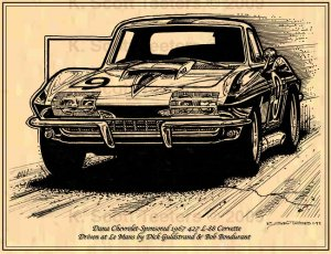 1967 L-88 Corvette Sponsored by Dana Chevrolet